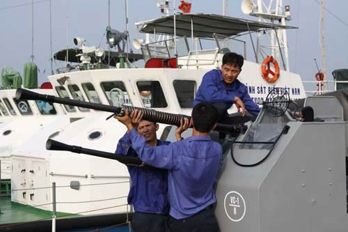 """Cảnh sát biển Việt Nam """"khoe"""" trang bị mới - 11"""