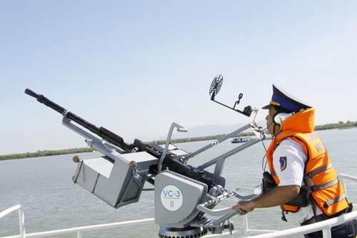 """Cảnh sát biển Việt Nam """"khoe"""" trang bị mới - 4"""