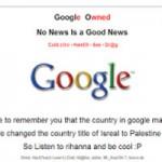 Công nghệ thông tin - Hacker tấn công Google, đòi lại tên Palestine trên Google Maps