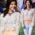 Thời trang - Áo ren gây hiếu kỳ của người đẹp Hàn
