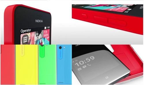 Lộ Nokia Asha 502 và Asha 503 với mặt kính cong - 1