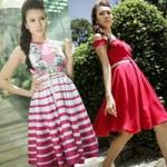 Thời trang - Chọn váy đẹp đón nắng ngày Thu