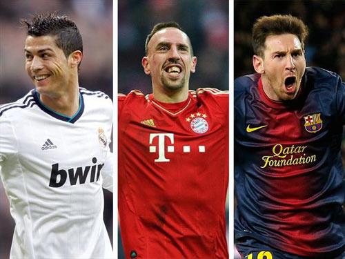 Ribery xuất sắc nhất châu Âu - 1