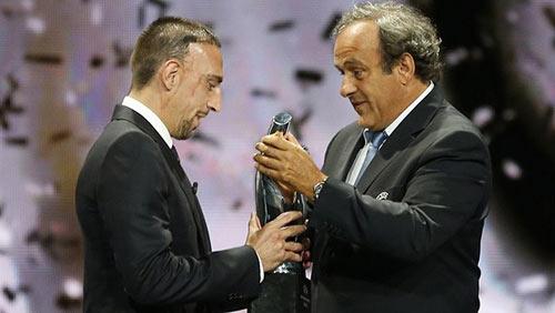 Ribery xuất sắc nhất châu Âu - 3