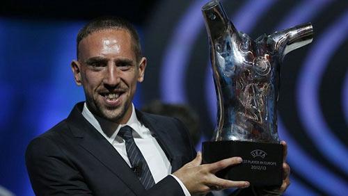 Ribery xuất sắc nhất châu Âu - 4