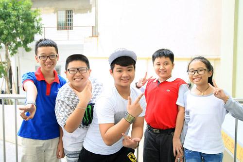 Thí sinh The Voice Kids tự tin trước bán kết - 1