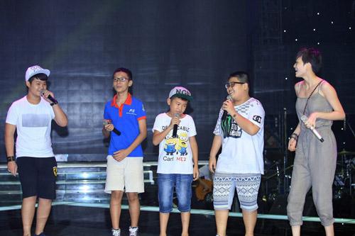 Thí sinh The Voice Kids tự tin trước bán kết - 8