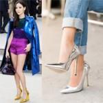 Thời trang - Giày kim loại hút hồn cô nàng sành điệu!