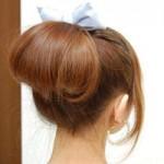 Làm đẹp - Học làm tóc búi hình vòm siêu tốc