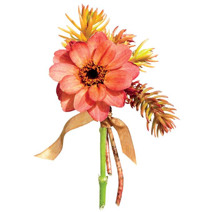 Chú rể thêm ngọt ngào nhờ hoa cài áo - 13