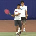 Học tennis qua ti vi: Sửa lỗi cú trái 2 tay