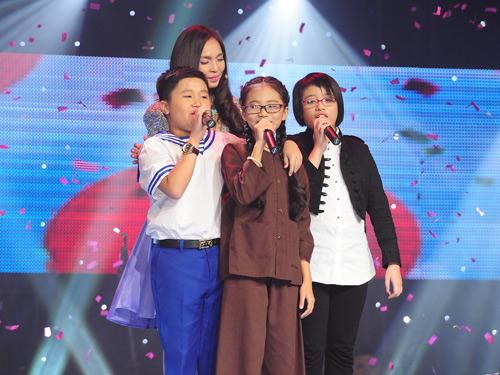Phương Mỹ Chi vào chung kết The Voice Kids - 1