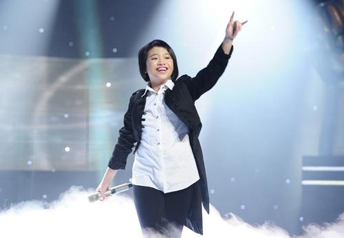 Phương Mỹ Chi vào chung kết The Voice Kids - 5