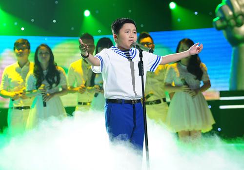 Phương Mỹ Chi vào chung kết The Voice Kids - 6