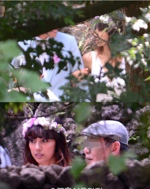 Những tấm ảnh cưới đầu tiên của Lee Hyori - 2