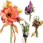 Thời trang - Chú rể thêm ngọt ngào nhờ hoa cài áo