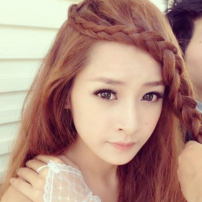 Tết tóc duyên dáng như Chipu - 1