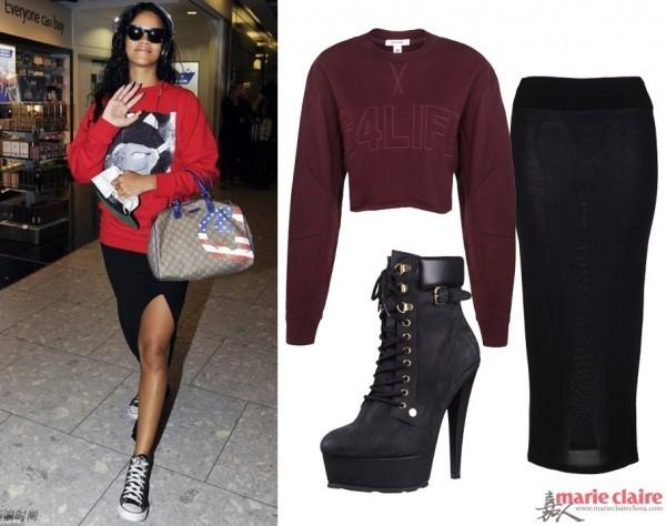 Ngắm Rihanna mặc đồ thể thao cực chất - 2
