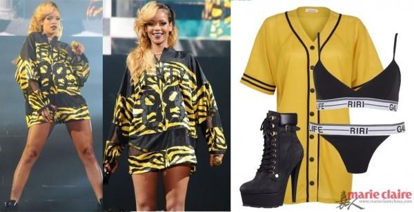 Ngắm Rihanna mặc đồ thể thao cực chất - 17