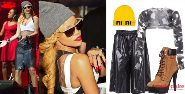 Ngắm Rihanna mặc đồ thể thao cực chất - 18