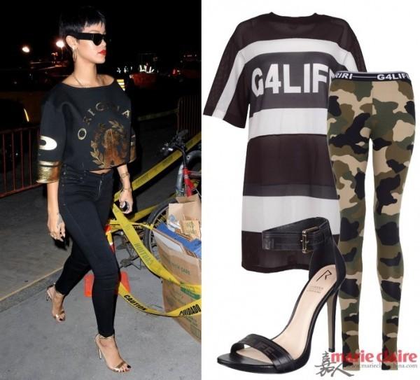 Ngắm Rihanna mặc đồ thể thao cực chất - 10