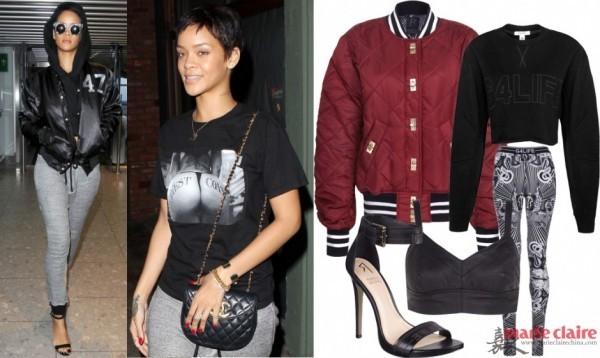 Ngắm Rihanna mặc đồ thể thao cực chất - 13