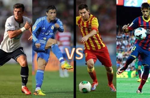 Soi cuộc chiến Messi-Neymar đấu CR7-Bale - 1