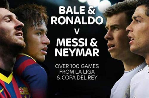Soi cuộc chiến Messi-Neymar đấu CR7-Bale - 2
