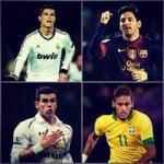 Bóng đá - Soi cuộc chiến Messi-Neymar đấu CR7-Bale
