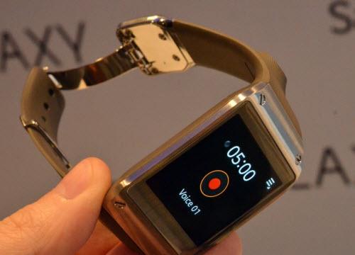 Đồng hồ thông minh Samsung Galaxy Gear trình làng - 3