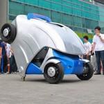 Ô tô - Xe máy - Ô tô điện có khả năng gập gọn