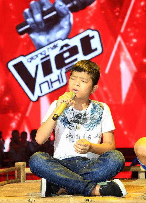 Thí sinh The Voice Kids hết mình cho chung kết - 1
