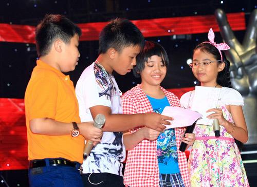 Thí sinh The Voice Kids hết mình cho chung kết - 9