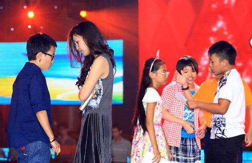 Thí sinh The Voice Kids hết mình cho chung kết - 8