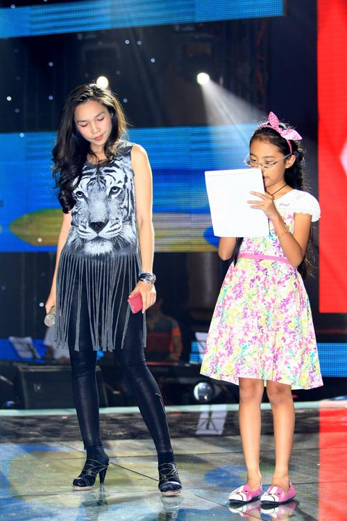 Thí sinh The Voice Kids hết mình cho chung kết - 5