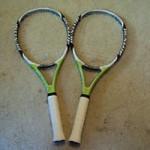 Học tennis qua ti vi: Bí quyết chọn vợt