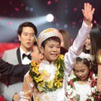 Quang Anh chiến thắng Giọng Hát Việt Nhí 2013
