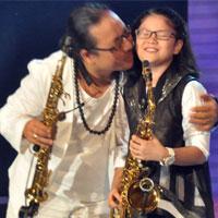 Trần Mạnh Tuấn phiêu cùng con gái