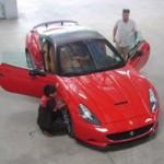 Ô tô - Xe máy - Chồng Ngọc Thạch độ siêu xe Ferrari California