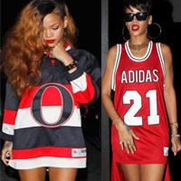 Ngắm Rihanna mặc đồ thể thao cực chất