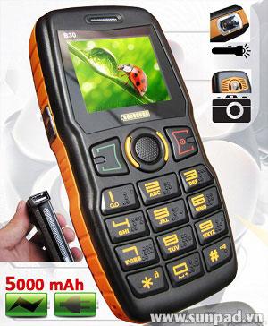 Điện thoại Sunfone B30 thách thức đối thủ về pin - 1