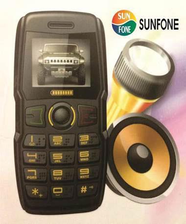 Điện thoại Sunfone B30 thách thức đối thủ về pin - 3