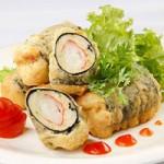 Ẩm thực - Cá ba sa cuộn rong biển chiên giòn
