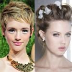Tóc - Mũ - Nón - Các mẫu tóc đẹp nhất sàn diễn thời trang