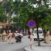 Nã đạn ở UBND Thành phố Thái Bình