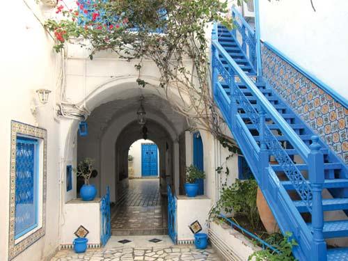 Đến xứ sở thần tiên Sidi Bou Said - 2