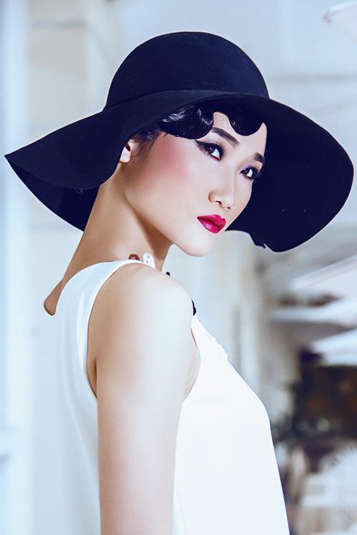 Cô nàng cao gày học Kha Mỹ Vân mặc đẹp - 11