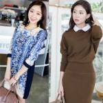 Thời trang - Chọn váy liền thanh lịch cho mùa mát mẻ