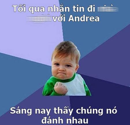 Dân mạng chế ảnh trai đẹp và vụ Andrea - 7