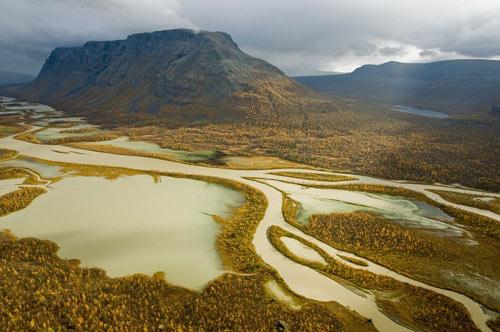 Tuyệt cảnh đồng bằng sông Rapa ở Thụy Điển - 11